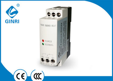 China Sequence 3 Phase Undervoltage Relay 2 LEDs For Status Indication 200-500 VAC supplier