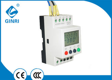 China Air - Conditioner 3 Phase  Relay With Timer , 460VAC Phase Loss Monitor Relay  60Hz supplier