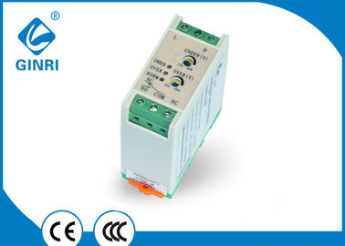 China Mining Excavator Single Phase Voltage Monitoring Relay 1C./O Output Contacts supplier
