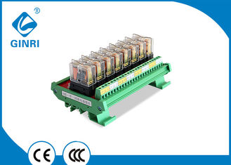 10A Optocoupler Isolated Relay Module PLC Relay Module Omron 8 Channel 5V 12V 24V