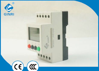 China Water Pumps Three Phase Voltage Monitoring Relay 380V protector 1CO  6A contact capacity supplier