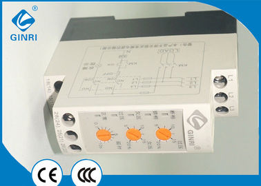 China 480VAC Neutral Loss Three Phase Voltage Monitoring Relay Adjustable Delay Time supplier