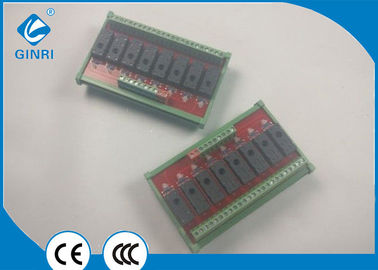 China Omron PLC Relay Module JR-8L1 DIN Rail Mounting Isolation Each Relay Channel supplier