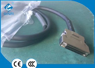 Ss50-1 Plc Connector Cable Scsi Connector 50p Cn Type Flexible Pvc Insulation Material