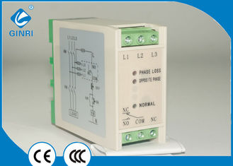 Pump Three Phase Voltage Monitoring Relay , Under Voltage Over Voltage Protection Relay