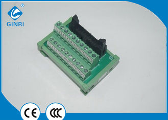 China IDC Interface Breakout Module for Flat Ribbon Cables 20 Pole DC24V 1A JR-20TBC supplier
