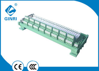 0.1Hz Frequency Omron Relay Module / I O Din Rail Relay Module D - SUB Connector