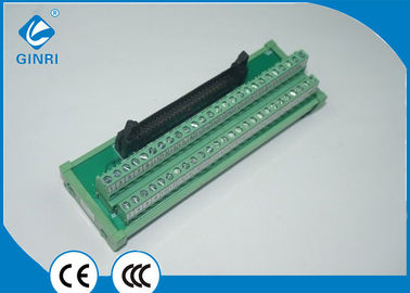 China IDC Connector Terminal Block Interface Modules 50 Poles With Excellent Stability supplier