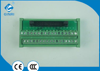 China DC Motors Terminal Block Interface Modules PLC Output Interface Slotted  Screws 34P supplier