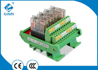 China AC Programmable PLC Relay Module JR-4L2 ,12V Omron Relay Module Customized supplier