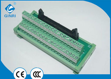 China Micro - Controller Interface Breakout Module , IDC Connector Unit 40 Pole Terminal Block supplier
