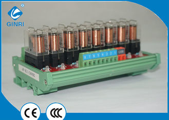 China 8 Channel Relay Board / PLC Relay Module DPDT Mitsubishi Amplifier Power supplier