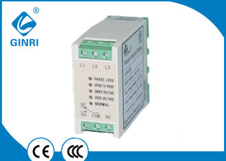 China JVR-381 Slim Three Phase Voltage Monitoring Relay With CE , CCC Cetification supplier
