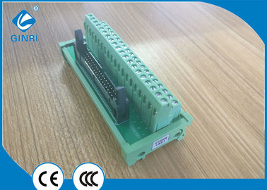 China Input Output 40 Pole  IDC Interface Module Breakout Board Male DC24V supplier