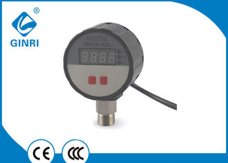 China Water Digital Pressure Gauge LCD Over / Under Pressure Protector -0.1 To 60 MPa supplier