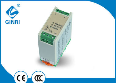 China Under Over Voltage Single Phase Protection Relay 110VAC 220VAC 240VAC 250VAC supplier