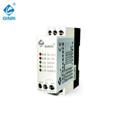China Four Wire Voltage Controlled Relay , 3 Phase Monitoring Relay With Neutral Protect supplier