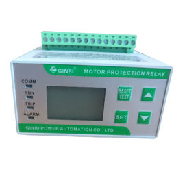 Digital Motor Protector Fan Motor Overload Phase Failure Protection Relay With Earth Fault