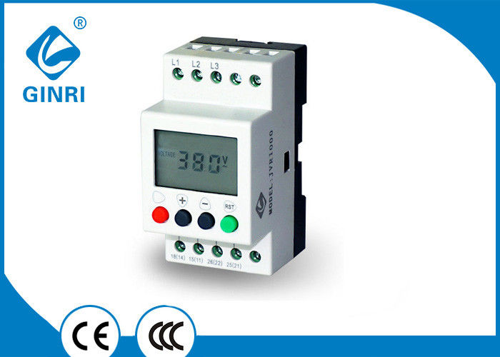 LCD 3 Phase Voltage Monitoring Relay , JVR1000 Time Delay