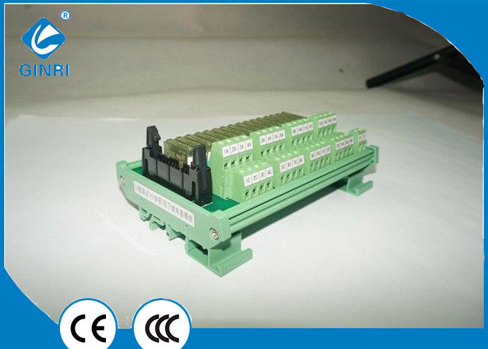16 channel dc 24v plc relay module with connectors interface board16 channel dc 24v plc relay module with connectors interface board jr b16pc f
