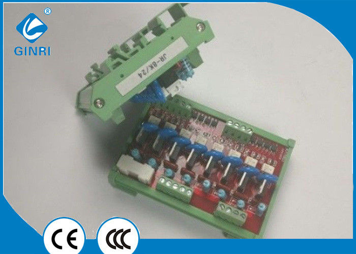 8 Channel 5VDC Relay Board PLC DIN Rail Mounting NPN PNP
