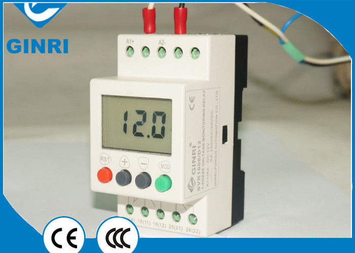 Single Phase Overvoltage Protection Relay 35mm Din rail ... on