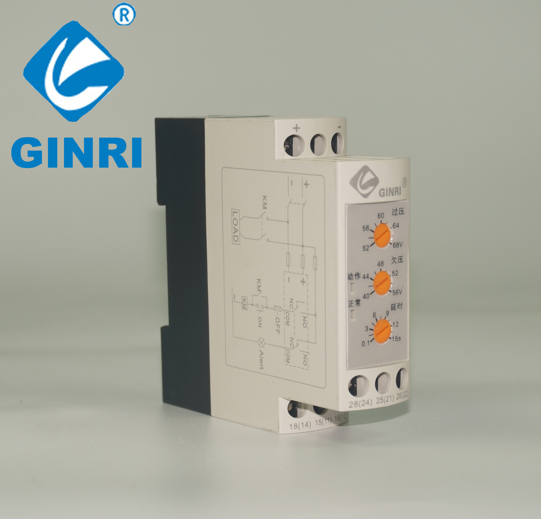 Electric Control System Dc Relay 24 Volt Phase Balance Dvrd 12 To
