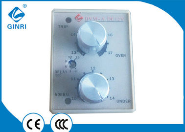 China Cabinet DC Voltage Monitoring Relay , Adjustable Undervoltage Protection Relays factory