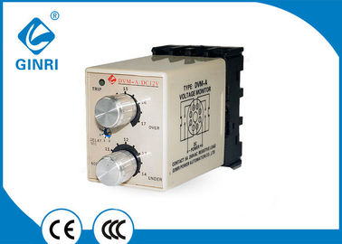 China Time Delay DC Voltage Monitoring Relay Plug - In Module With DIN Socket factory