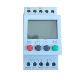 China AC / DC Supply Single Phase Undervoltage Relay 6A Digital Voltage Protection Relay Auto Reset factory