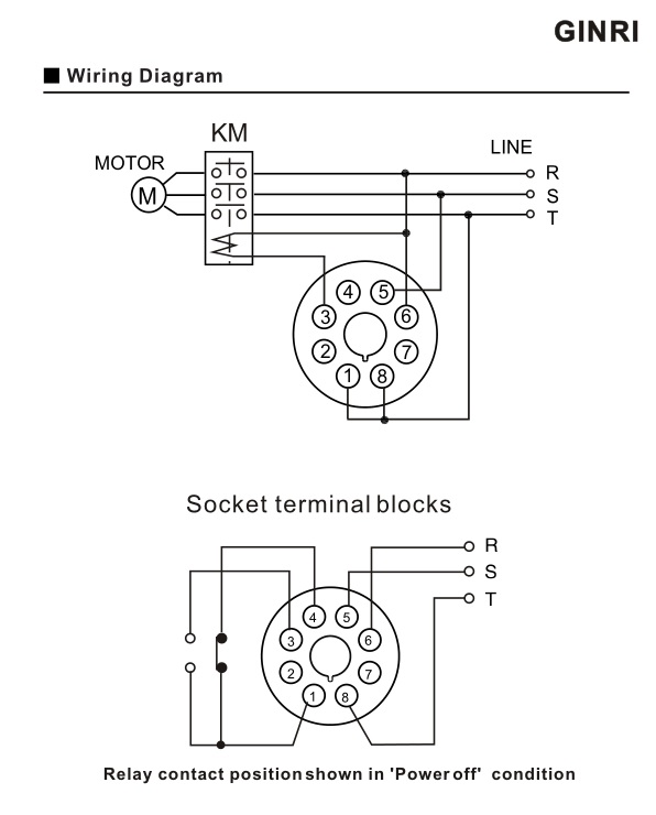 3 Phase Monitoring Relay Jvm A Under Voltage Over Voltage