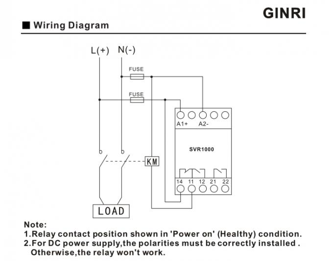 Voltage Detection Single Phase Voltage Relay Over Voltage ... on